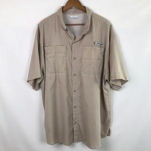 COLUMBIA PFG Vented Omni Shade Fishing Shirt
